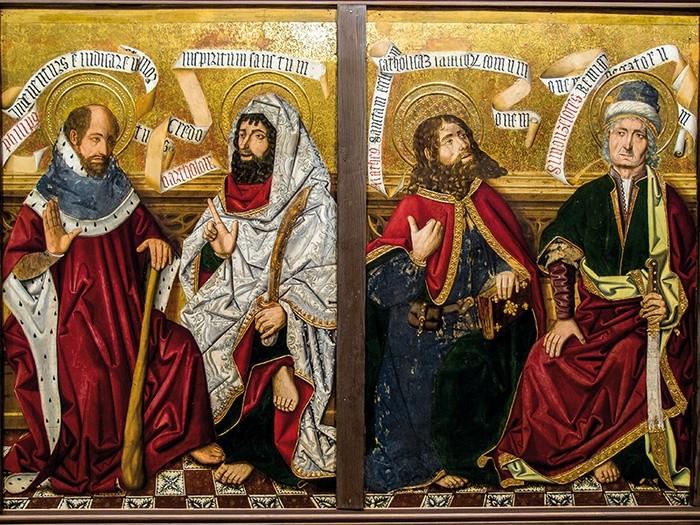 Rozmowa  apostołów