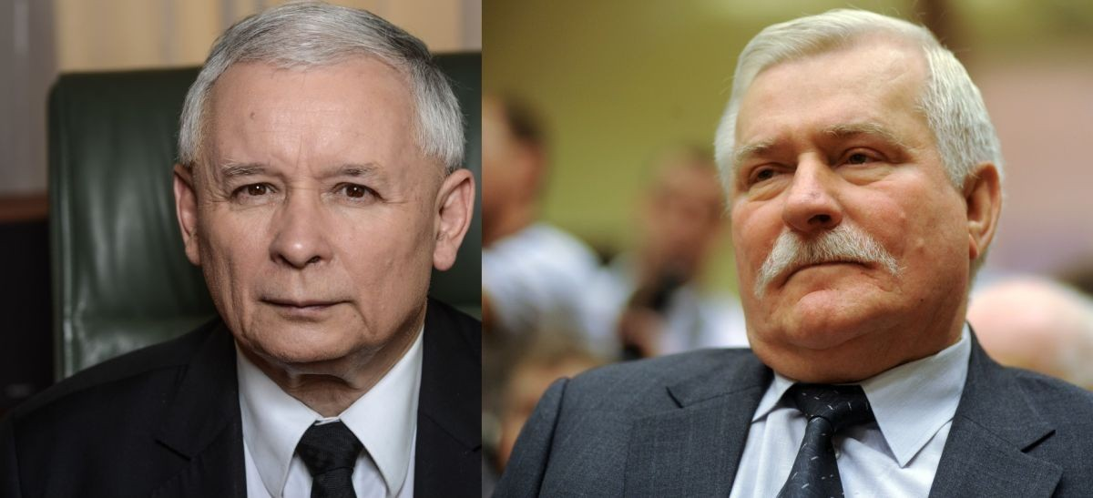 Kaczyński kontra Wałęsa