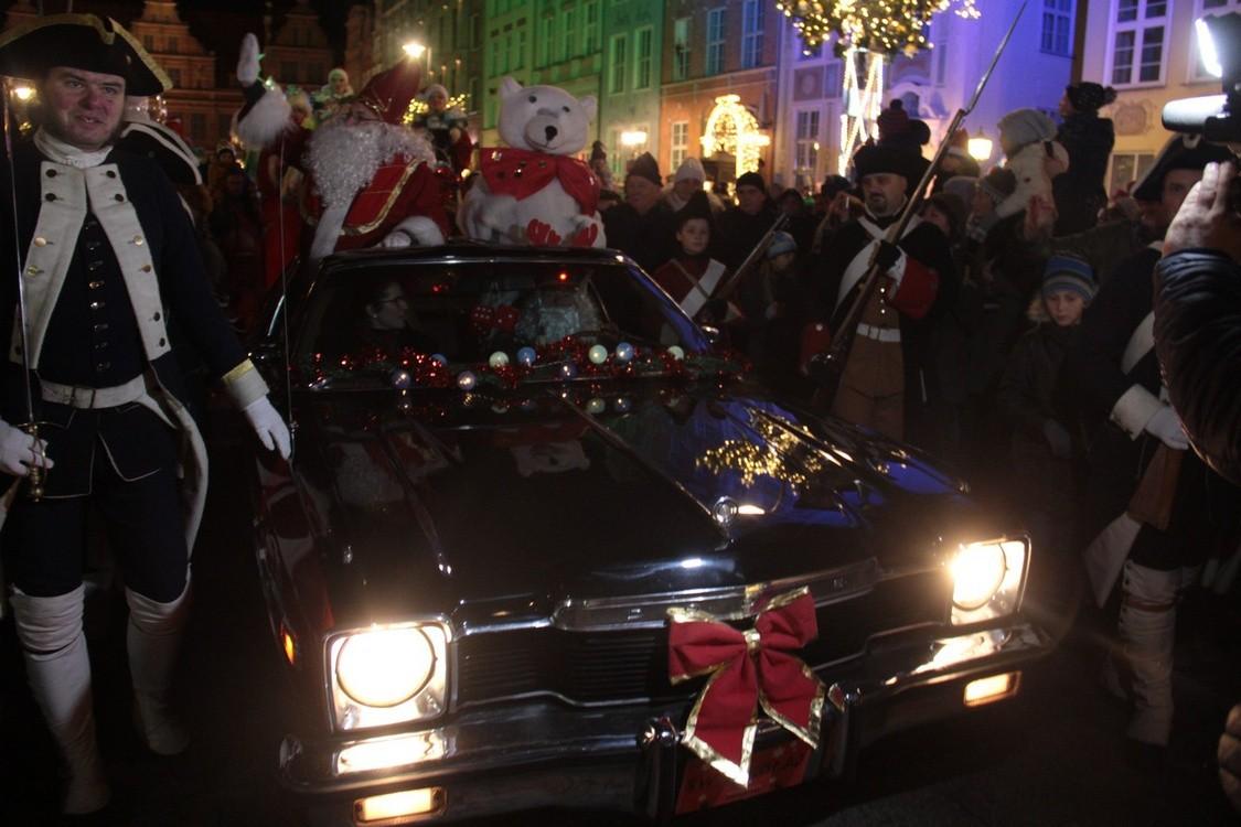 Święty Mikołaj przybył do Gdańska