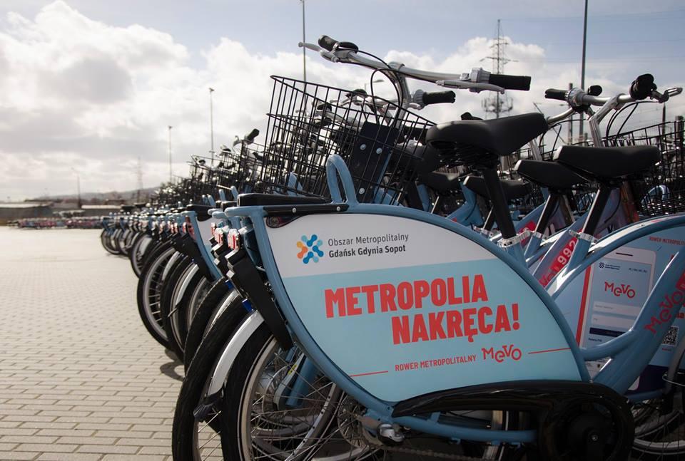 Rower Metropolitalny MEVO wystartuje w marcu
