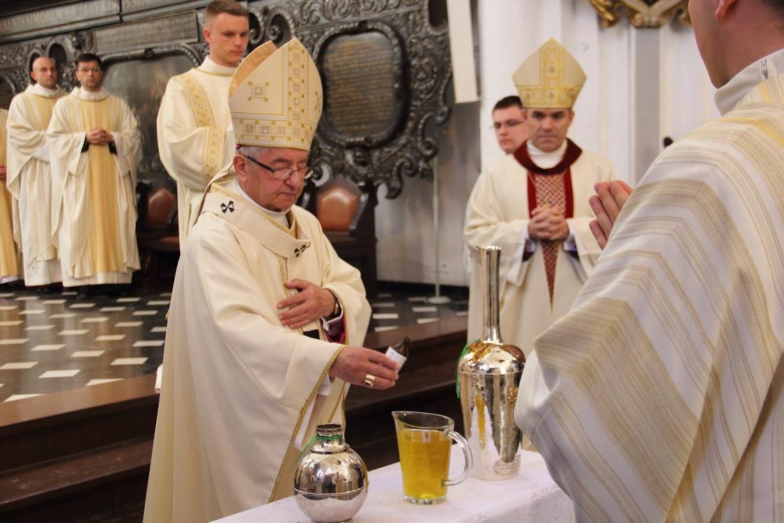 Archidiecezjalna Msza św. Krzyżma