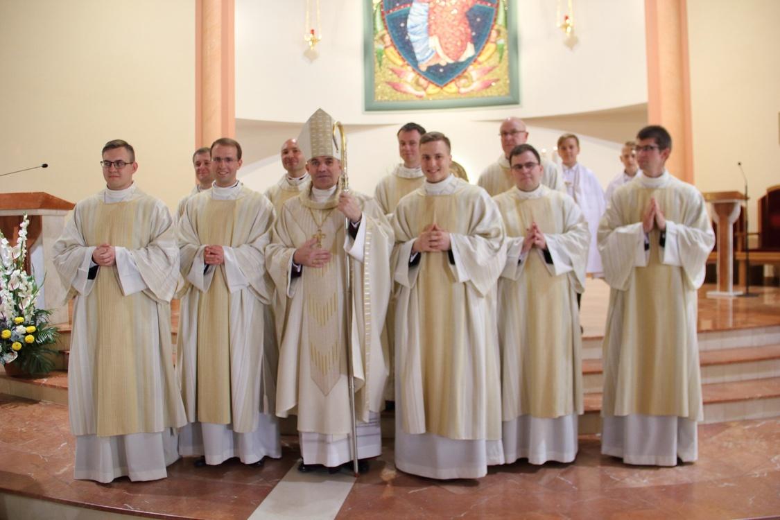 Pięciu nowych diakonów diecezji gdańskiej