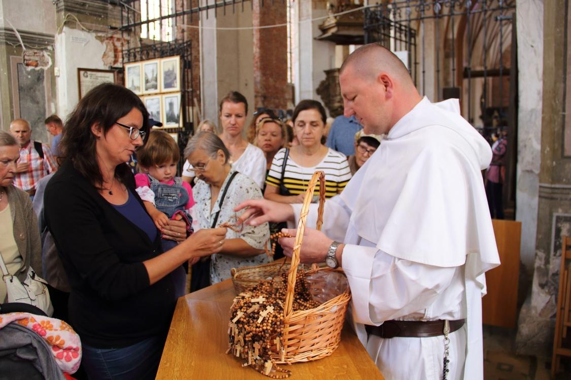Odpust św. Dominika w jarmarkowym Gdańsku